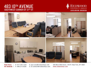 483 10th Avenue, Suite 205 Office Space